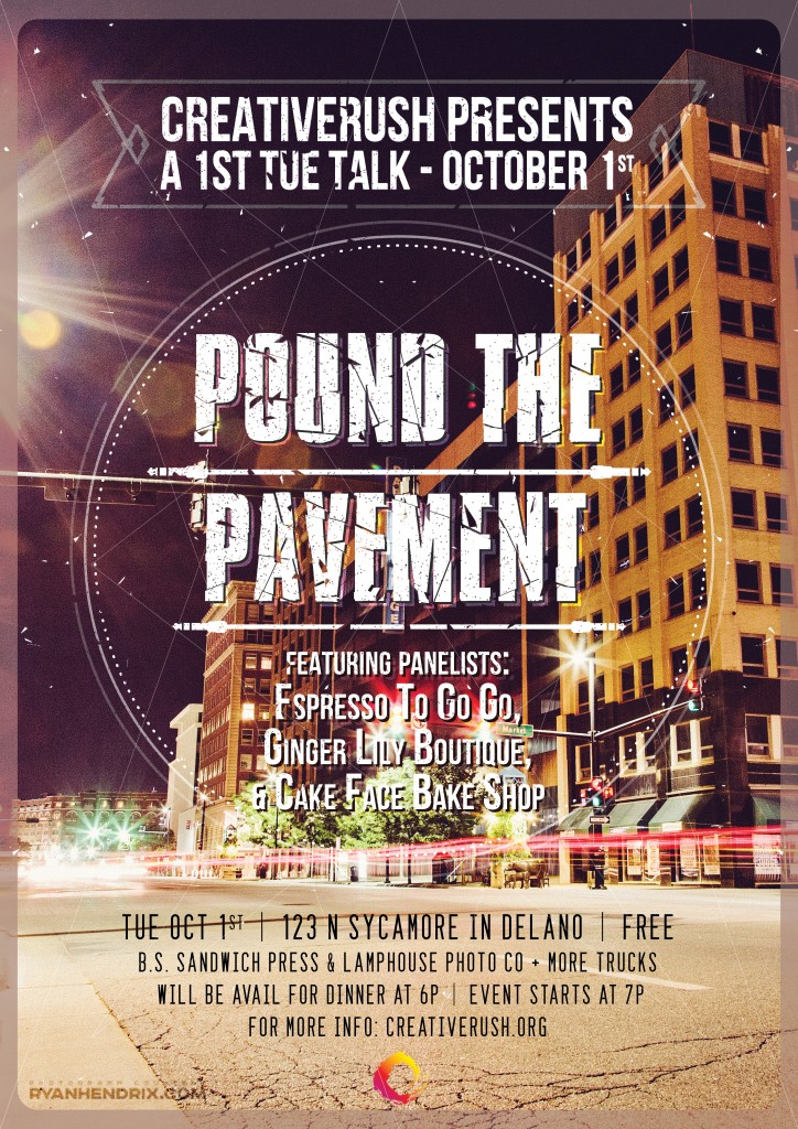1st TUE Talk Poster